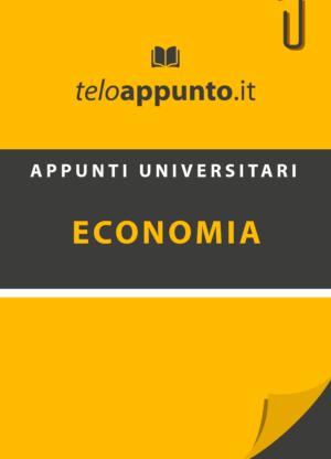 Appunti di economia